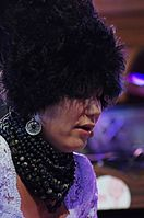 Iryna Kovalenko (DakhaBrakha) (Haldern Pop 2013) IMGP6653 smial wp.jpg