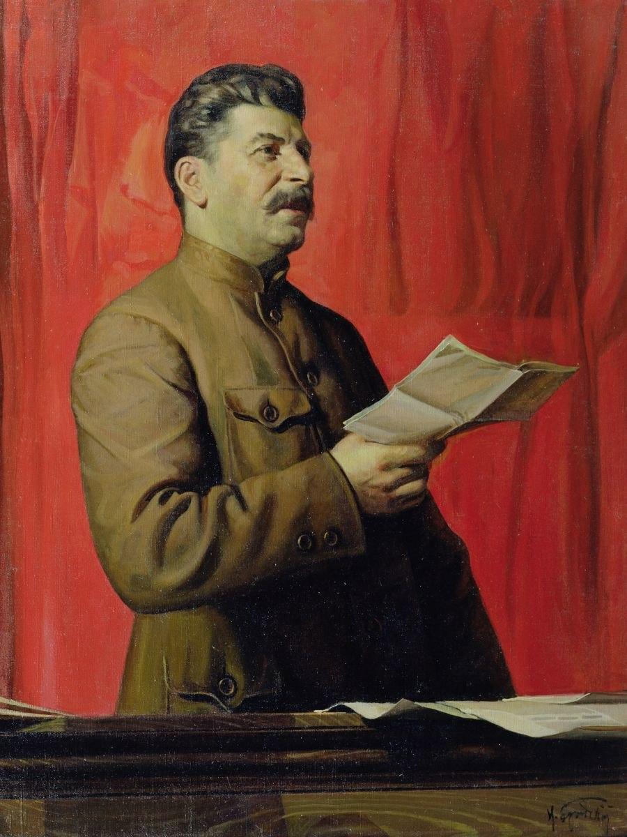 Isaak Brodsky stalin02