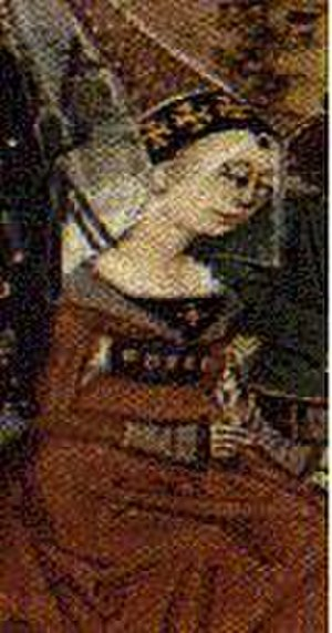 Isabella of France - 15th century depiction of Isabella