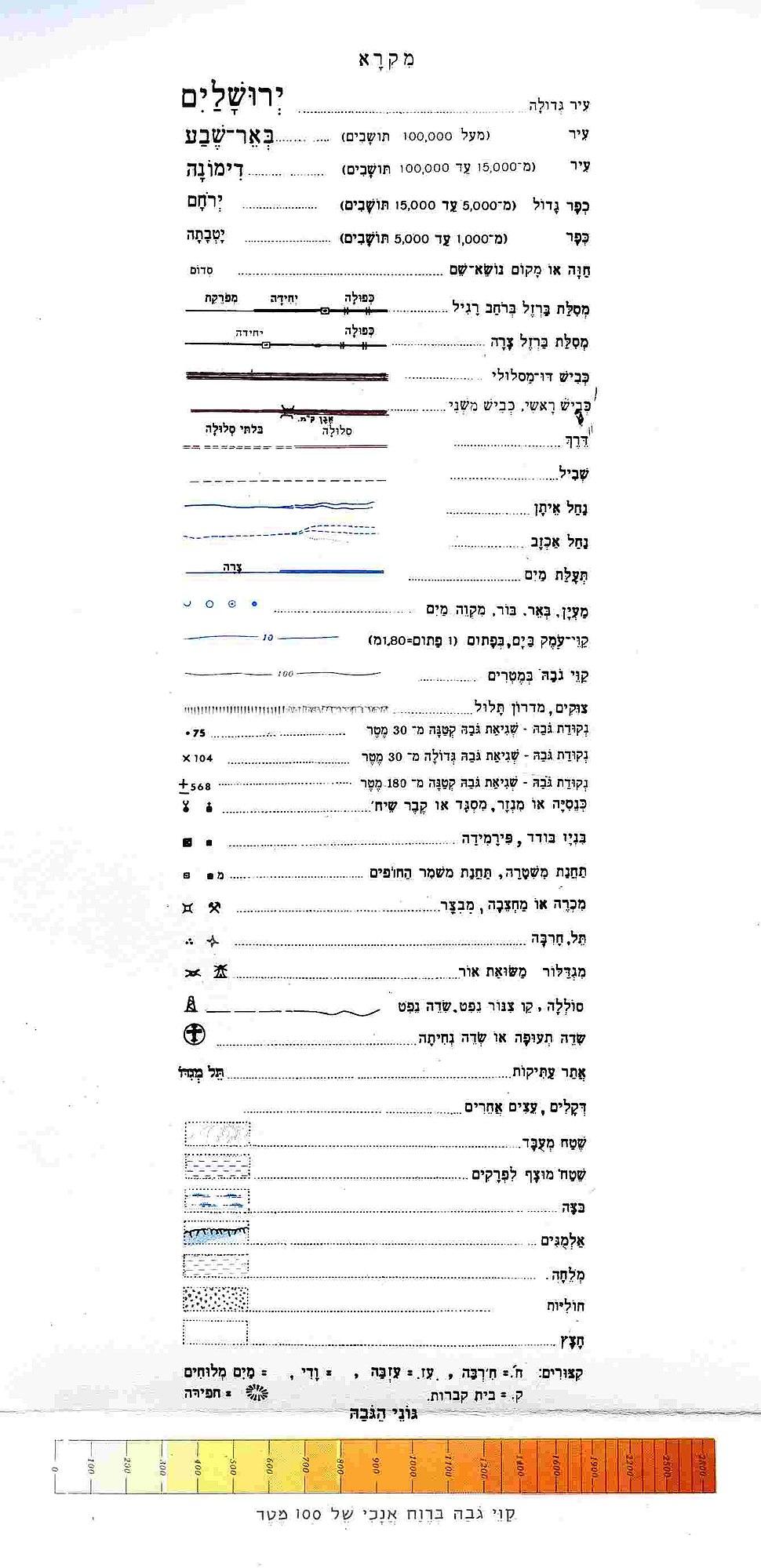 IsraelCVFRlegend