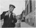 Italy. (A man smoking a cigarette) - NARA - 541741.tif