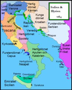 karta över venedig italien Republiken Venedig – Wikipedia karta över venedig italien