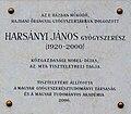 János Harsányi plaque Budapest14.jpg