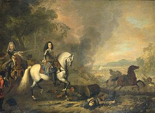 Equestrian Portrait of Hendrik Casimir II (1657-1696)