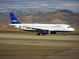 제트 블루의 에어버스 A320