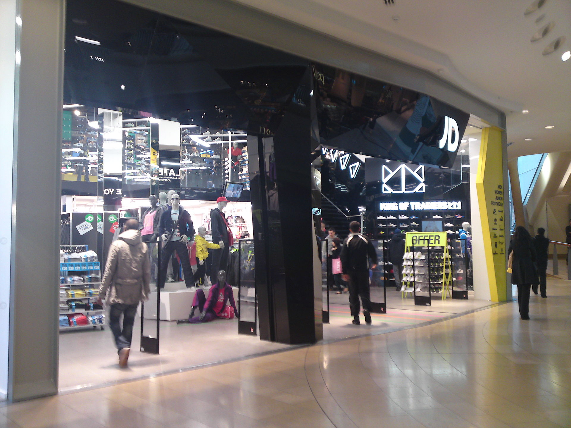 information about jd sports Athletic-apparel retailer finish line inc has reached a deal to be acquired for about $558 million by jd sports news, education, and information services dow.