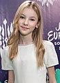 JESC 2018 partisipants. Daneliya Tuleshova (Kazakhstan) (4) (cropped).jpg