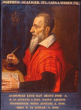 Joseph Justus Scaliger - Scaliger