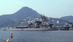 JS Sawayuki at Sasebo, -29 Sep. 2006 a.jpg
