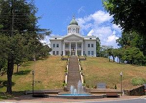 Jackson County, North Carolina - Image: Jackson county courthouse nc 1