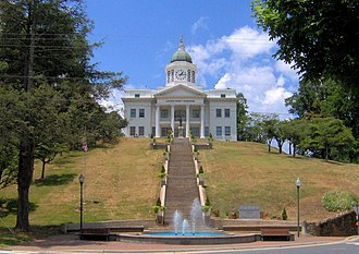 Jackson County, North Carolina - Image: Jackson county courthouse nc 1