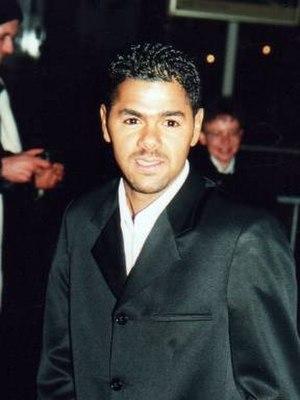 Jamel Debbouze - Debbouze at the 2001 César Awards