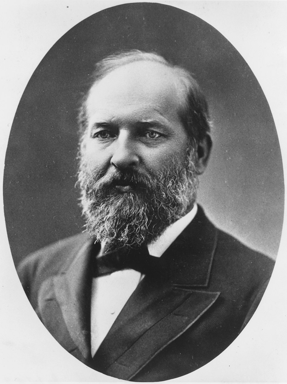 James A. Garfield - NARA - 531082