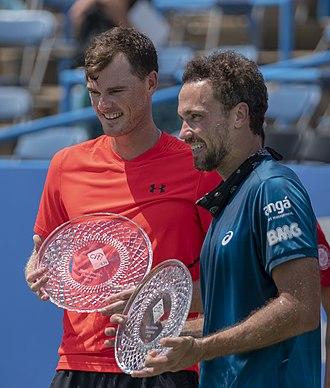 Bruno Soares - Soares has won 10 titles with Jamie Murray, including the 2018 Cincinnati Masters