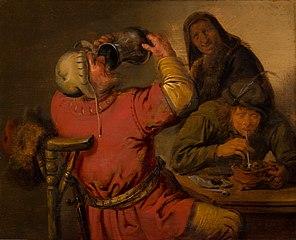 Taste: The five senses by J.M. Molenaer