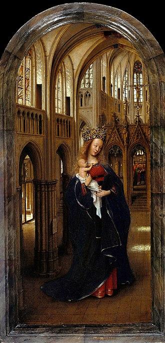 Madonna in the Church - Image: Jan van Eyck The Madonna in the Church Google Art Project