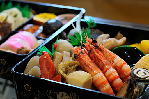 Japanese traditional dishes for new year