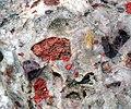 Jasper-quartz pebble conglomerate (Lorrain Formation, Paleoproterozoic, ~2.3 Ga; Ottertail Lake Northeast roadcut, near Bruce Mines, Ontario, Canada) 5 (47709219431).jpg