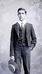 Nehru at Harrow when he was 15.