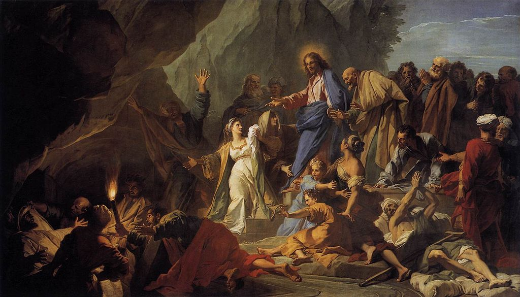 나사로의 부활 (장 주브네, 1706년)