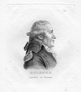 Jean-Pierre Étienne French Navy officer
