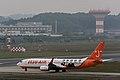 Jeju Air, Boeing 737-800 HL8263 'Refresh Jeju Air, Lee MinHo Livery' NRT (22216848663).jpg