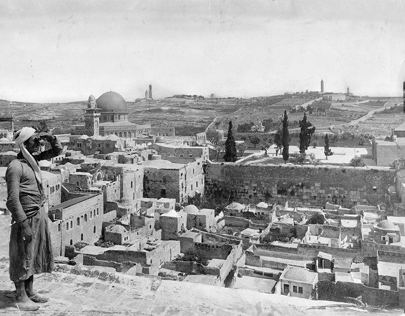 Jerusalem, 1917