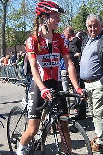 Jessie Daams Belgian cyclist