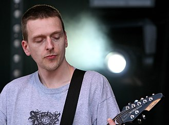 Justin Broadrick - Justin Broadrick performing with Jesu at Primavera Sound in 2009