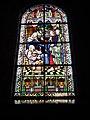 Jeumont (Nord, Fr) Église St.Martin, vitrail 09 Résurrection de la fille de Jaïre.JPG