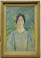 Jeune femme à la robe fleurie Henri Martin musée de Cahors Henri-Martin 2012.4.5.jpg