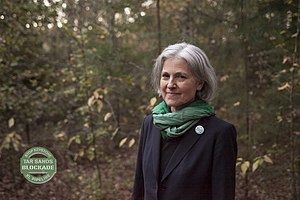 Jill Stein presidential campaign, 2012 - Oct. 31, 2012, Dr. Stein was arrested in Texas while opposing the Keystone XL Pipeline