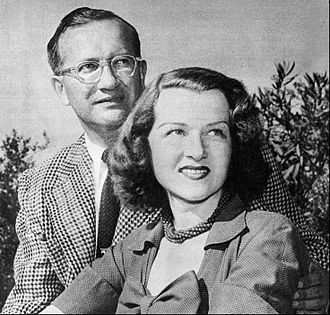 Newlywed - Musicians Jo Stafford and Paul Weston as newlyweds, upon returning from their honeymoon in 1952.