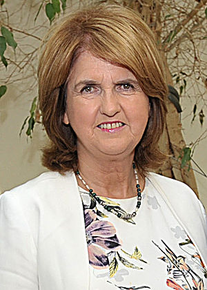 Labour Party (Ireland) leadership election, 2014 - Image: Joan Burton July 2014 (cropped)