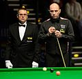 Joe Perry and Ingo Schmidt at Snooker German Masters (DerHexer) 2015-02-05 02.jpg