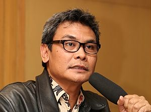 Corruption Eradication Commission - Johan Budi, the former spokesman of the Commission