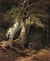 Johan Edvard Bergh - Skogslandskap (1853).jpg