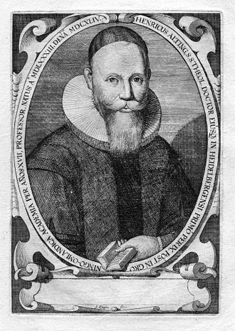 Johann Heinrich Alting - Johann Heinrich Alting