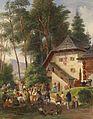 Johann Nepomuk Passini Dorffest 1865.jpg