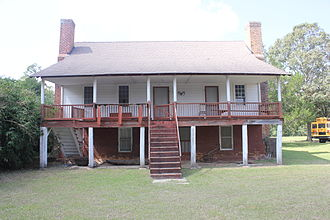 John Ford Home - Image: John Ford Home, Marion County, MS