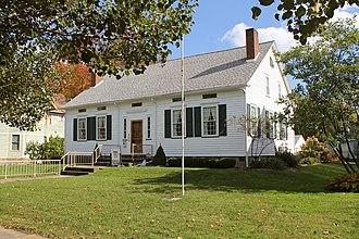 John Stark Edwards - Edwards' house in Warren