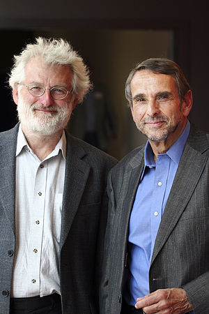 Institute for Science, Ethics and Innovation - Image: John Sulston and John Harris