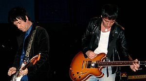 Johnny Marr - Image: Johnny Marr with The Cribs at the 9 30 Club
