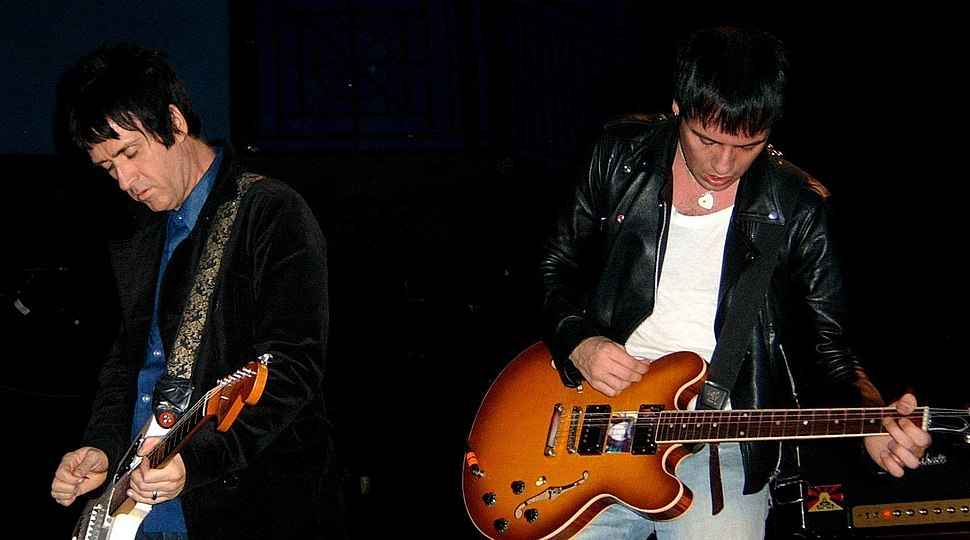 Johnny Marr with The Cribs at the 9-30 Club