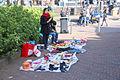 Jonge vrouw met spulletjes koningsdag 2015 Spijkenisse.jpg