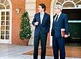 José María Aznar recibe al secretario general del grupo parlamentario del PP en el Congreso de los Diputados.jpeg