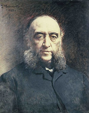 Jules Ferry - Portrait of Jules Ferry by Léon Bonnat (1888)