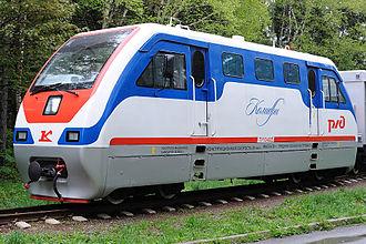 Kambarka Engineering Works - TU10 for Children's railway