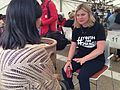 Justine Greening taking part in a mentoring session at -YouthForChange (14697985934).jpg