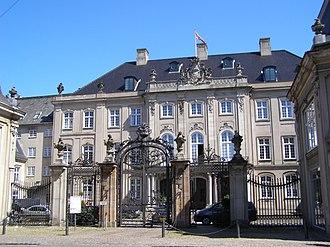 Odd Fellows Mansion, Copenhagen - The Odd Fellows Mansion seen from Dronningens Tværgade